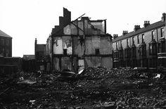 Demolition. Castle Boulevard, Nottingham, 1981