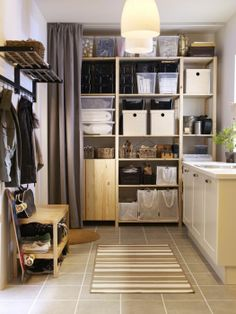 build storage from floor to ceiling with our ivar storage system hide it all with a curtain ikea decoru0027s