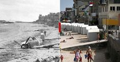 June marked a turning point in World War II as Allied troops stormed the beaches of Normandy, forcing the end of the German occupation of France. To mark this Friday's anniversary of D-Day, Reuters photographer Chris Helgren compiled a number. Old Pictures, Old Photos, Vintage Photos, D Day Photos, Normandy Beach, Best Vacation Destinations, Vacations, Fairytale Castle, Powerful Images