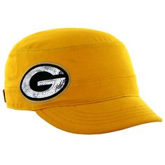 Green Bay Packers Women's Sparkle Fidel Cap at the Packers Pro Shop http://www.packersproshop.com/sku/8101022018/
