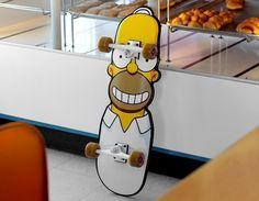 Homer Cruzer by Santa Cruz Skateboards $67