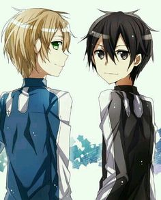 Eugeo and Kirito | Sword Art Online (SAO) Alicization-Underworld