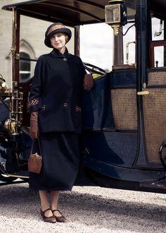 "'Lady Edith' in ""Downton Abbey"" (Season 6) https://www.pinterest.com/soulchango/downton-abbey"
