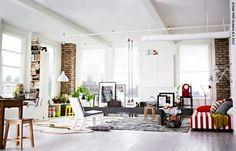 Laat je inspireren - IKEA FAMILY living room