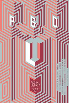 This is my collaboration to Passion & Design. An event for cases of design inspiration. Puebla Mexico 2014.