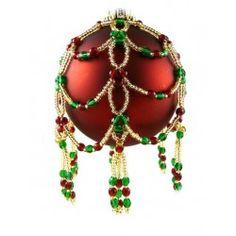 Noel Ornament Cover Kit Green/Red