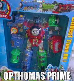 Opthomas Prime. I think of three boys who would love this.... Derek, Trever, and jake.