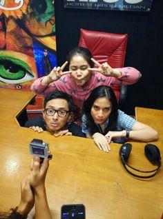 with Isa Raja