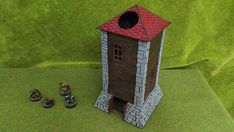Dice Tower, Dice Roller, Scenery Tower