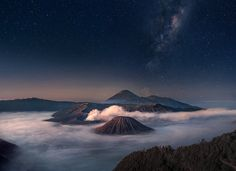 Bromo Starry Night by Silentino Natti on 500px