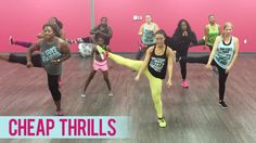 Sia - Cheap Thrills ft. Sean Paul (Dance Fitness with Jessica)