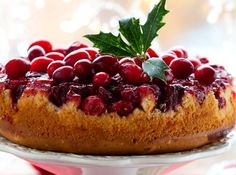 CRANBERRY-TAART recept | Smulweb.nl