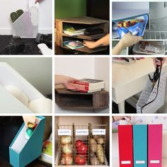 10 Ways To Use File Holders To Bring Some Order To Your Life Diy Projects For The Home Bring file holders Life Order Ways Kitchen Organization, Organization Hacks, Organizing Clutter, Organising, Ideas Para Organizar, Diy Décoration, Home Hacks, Diy Hacks, Getting Organized