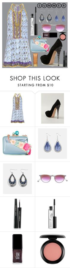 """Summer special"" by gadinarmada-1 ❤ liked on Polyvore featuring Poupette St Barth, Casadei, Sophia Webster, Avenue, Garrett Leight, Dolce&Gabbana, MAC Cosmetics, JINsoon, Jane Iredale and Summer"