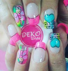 Nail Mania, Fingernail Designs, Nails, Beauty, Model, Vestidos, Polish Nails, Toe Nail Art, Finger Nails