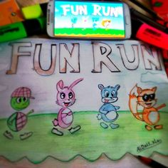 Nice drawing from one of our fans #funrun