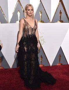 Jennifer Lawrence w sukni Diora