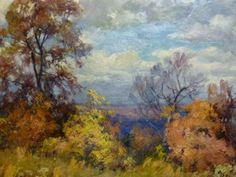 """Will Vawter """"Brown County Autumn Landscape"""""""