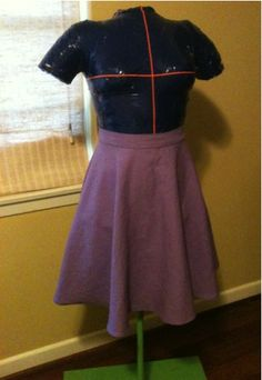 Circle Skirt in about 2 hours (what?!) – Seams Too Simple
