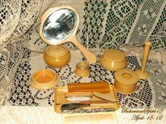Vintage Antique VANITY SET 1800's Antique Manicure Set 15