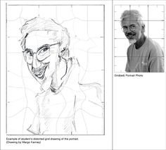 Distorted Grid Drawing Lesson with Edward Burke