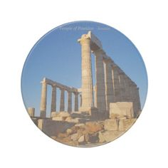 Temple of Poseidon - Sounio Coasters