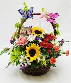 Butterfly Basket -