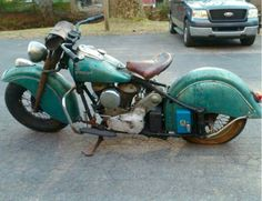 Badass '48 Indian Chief, but will someone take that tool box off!