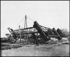 28 janvier 1887 : début de la construction de la Tour Eiffel.