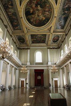 Banquet Hall. Whitehall Palace. Inigo Jones.