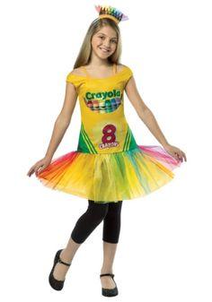 Tween Tutu Crayon Dress