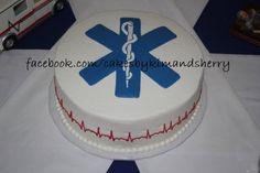 Grooms cake for an EMT