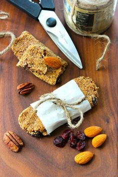 The Best Homemade Granola Bars!  Gluten Free & Grain Free!