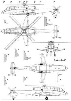 AH-56 Cheyenne blueprint