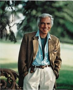 ...Ralph Lauren, love his style