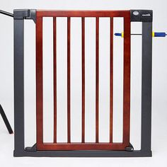 The strong steel frame of Munchkin's Deco Gate expands extra wide ($79.99; Amazon.com).
