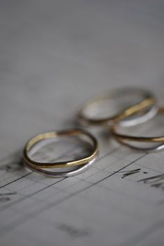 simple hand-made artisan rings. stacked or alone. beautiful, delicate.
