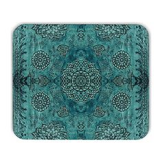 Hey, I found this really awesome Etsy listing at https://www.etsy.com/listing/262640566/boho-mousepad-boho-mouse-pad-teal