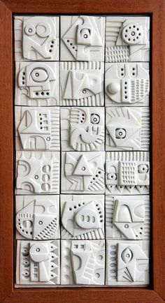 Terracotta wall sculpture by Ron Hitchens for sale - crafts - . Terracotta wall sculpture by Ron Hitchens for sale – crafts – Ceramic Wall Art, Ceramic Clay, Ceramic Pottery, Pottery Art, Sculpture Clay, Wall Sculptures, Ceramic Sculptures, Keramik Design, Clay Tiles