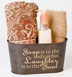Cute gift or bathroom decor