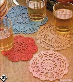 Magic Crochet nº 19 - leila tkd - Picasa Web Albums Crochet Diy, Filet Crochet, Crochet Potholders, Crochet Doily Patterns, Crochet Tablecloth, Crochet Diagram, Crochet Chart, Crochet Home, Thread Crochet