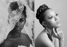 Bridal hair #hairaccessories #hair #black #fashion #hairstyle #beauty