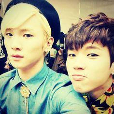 Key (SHINee) + Woohyun (INFINITE)