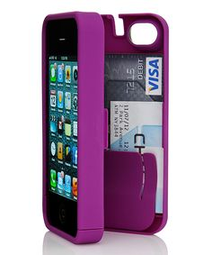 Take a look at this Purple Case for iPhone 4/4S on zulily today!