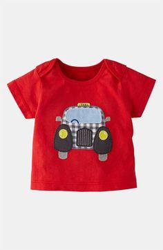 Mini Boden 'Vehicle Appliqué' T-Shirt (Infant) available at Nordstrom