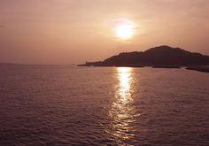 夕暮れの姫島  Himeshima at dusk