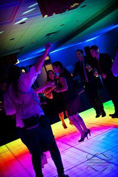 Chicago Wedding & Event Disc Jockeys MDM Entertainment Unveils Portable LED Illuminated Dance Floor Wedding Dj, Wedding Vendors, Wedding Events, Wedding Reception, Event Lighting, Wedding Lighting, Dance Floor Rental, Led Dance, Partner Dance