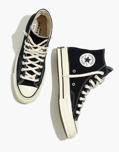 Dr Shoes, Hype Shoes, Me Too Shoes, High Top Sneakers, Shoes Sneakers, Black High Top Converse, Hightop Shoes, Black High Tops, Womens Converse High Tops
