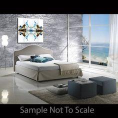 Sapphire Beauty Modern Original Abstract Ink by ArtByJasonGobel