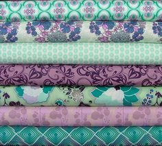 Poetica for Art Gallery, love the teals and purples together!
